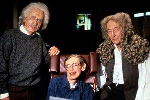 V Star Trek: Nová generácia sa Stephen Hawking objavil, aby si zahral partičku pokru s postavou Data a s hologramami vedcov Alberta Einsteina a Sira Isaaca Newtona.