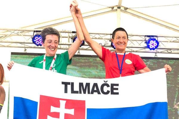 Tlmačanka Eva Seidlová (vpravo).