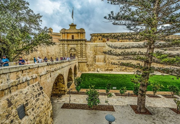 Mesto Mdina, Malta.