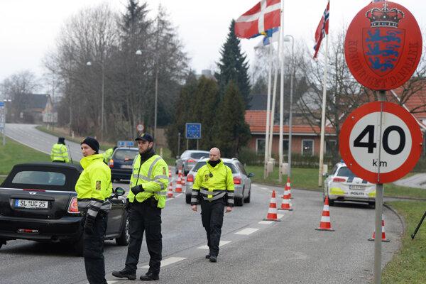 Dánsko už obnovilo kontroly na hraniciach s Nemeckom.