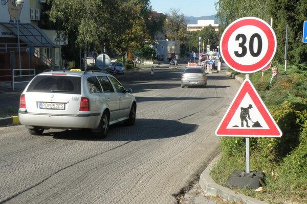 Kraj v minulom roku zabezpečil aj rekonštrukciu Hviezdoslavovej ulice v Prievidzi.