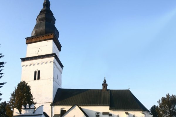 Kostolná veža v Partizánskej Ľupči je najvyššia na severnom Slovensku.