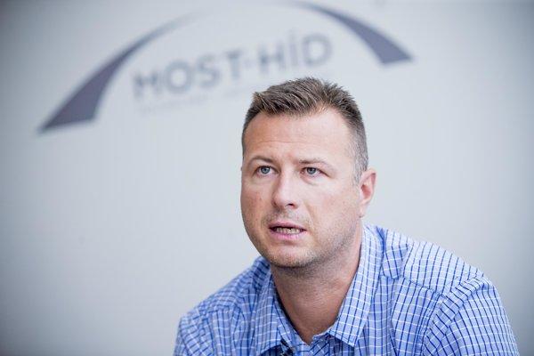 Šéf poslaneckého klubu Mosta-Hídu Gábor Gál.
