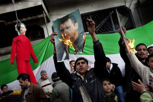 Asad je podľa mnohých zodpovedný za rozpútanie sýrskeho konfliktu.