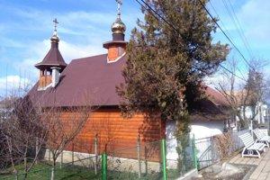 Pravoslávny kostolík v Hontianskych Moravciach.