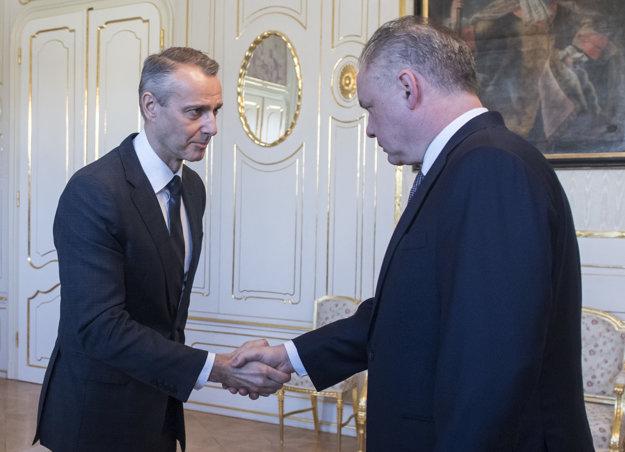 Richard Raši na stretnutí s Andrejom Kiskom.