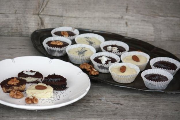 Šuhajdy orechové, kokosové a makové