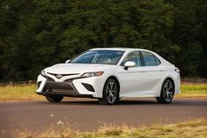 1. Miesto - Toyota Camry