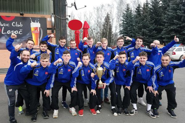 Bronzové umiestnenie slovenských mladíkov prekonalo očakávania.