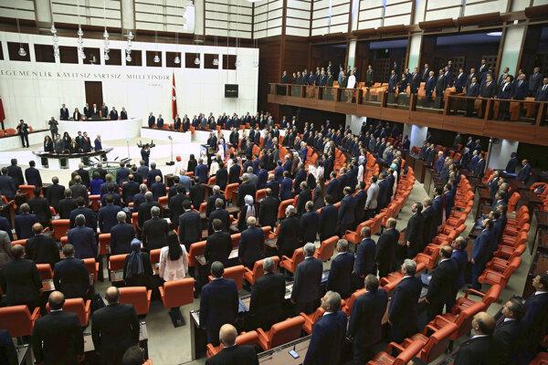 Turecký parlament