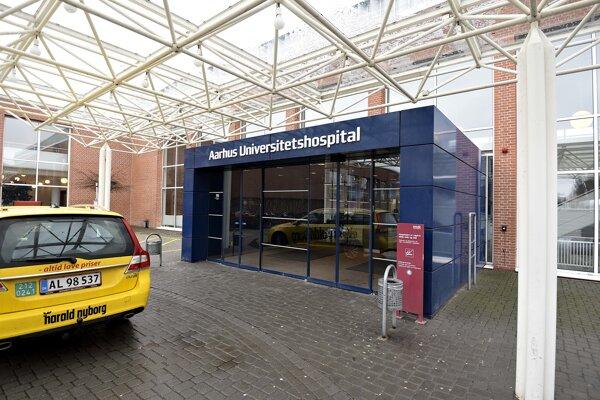 Pacienta s vírusom prijali v nemocnici v meste Aarhus.