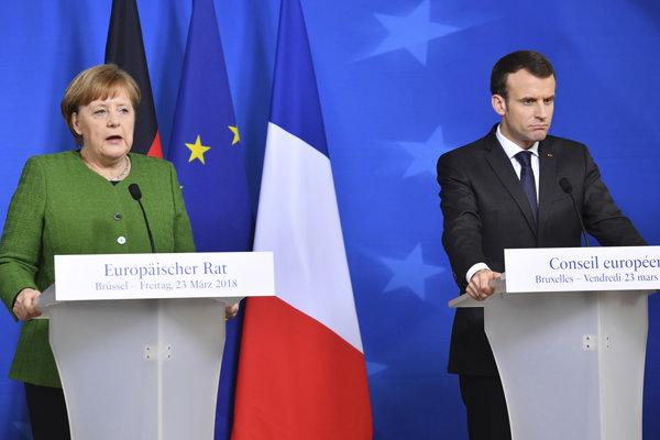 Francúzsko a Nemecko chceli spoločnú koncepciu v záujme posilnenia meny predložiť už na terajšom summite.