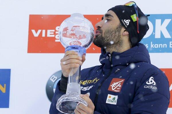 Martin Fourcade opäť suverénne ovládol Svetový pohár.