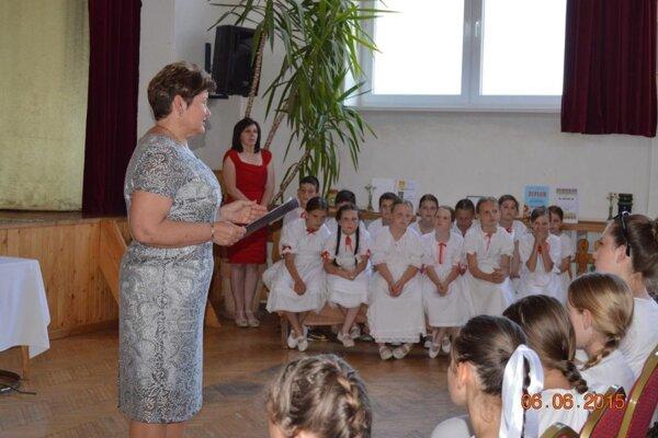 Detský folklórny súbor Studnička oslavoval.