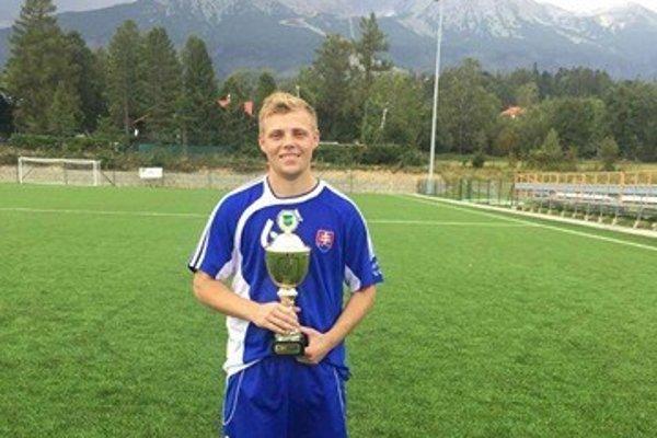 Marek Švajlen pri víťazstve v Region´s Cupe.