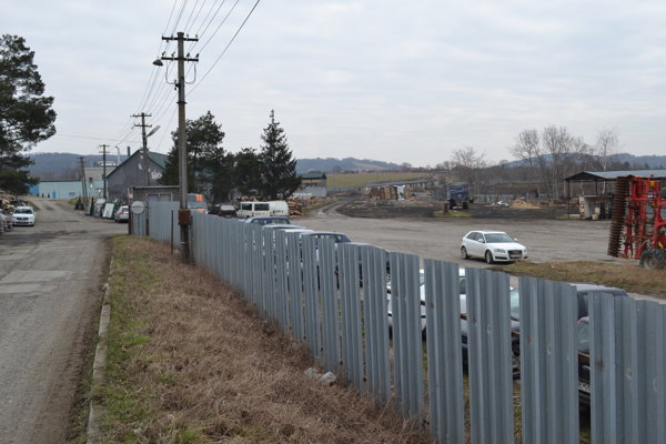 Agrokomplex na Suchom Jarku.
