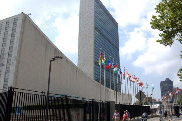 Budova OSN v New Yorku.