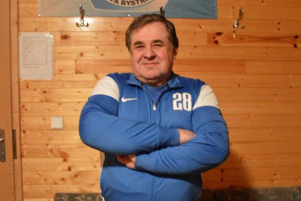 Prezident klubu Ladislav Slivka.