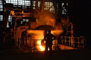 Výroba ocele. Ilustračné foto