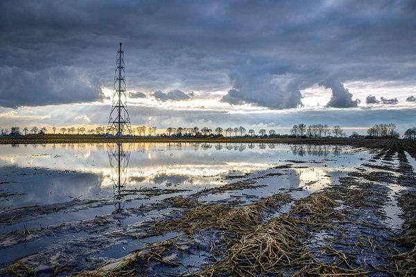 V holandskom Groningene sa nachádzajú jedny z najbohatších ložísk zemného plynu na svete.