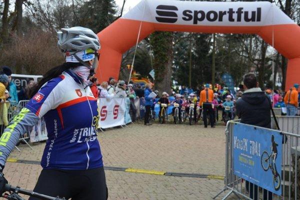 Na štart sa postavilo bezmála 290 cyklistov.