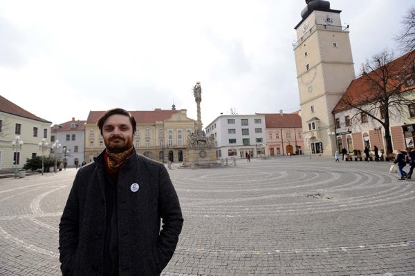 Tomáš Vravník pôsobí v trnavskom divadle od roku 2014