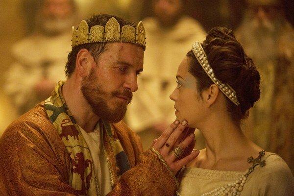 Scéna z filmu Macbeth.