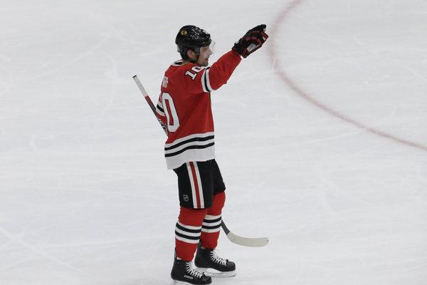 Patrick Sharp absolvoval svoj posledný zápas v NHL.