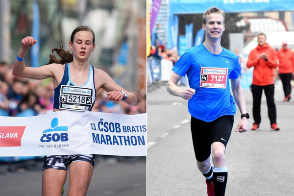 Veronika Zrastáková obhájila prvenstvo na polmaratóne. Matúš Kompas dobehol tretí na 10 km trati.