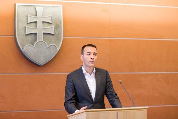 Minister vnútra Tomáš Drucker.