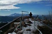 Na vrchole Vysokých Skaliek.