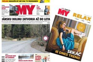 MY Liptovské noviny s pravidelným magazínom.