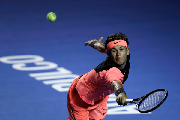 Americký tenista Jared Donaldson dostal pokutu 5-tisíc eur.