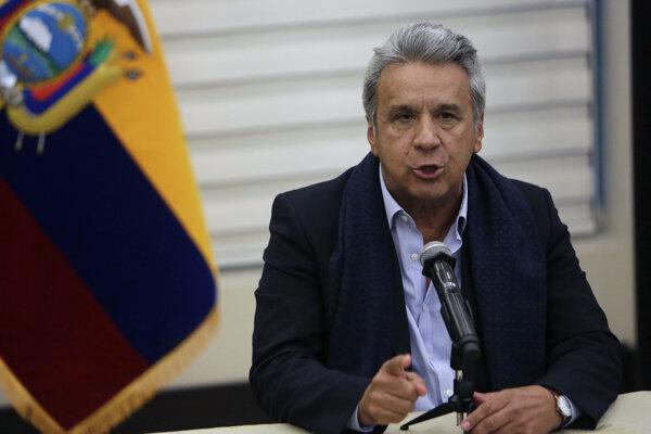 Prezident Lenín Moreno.