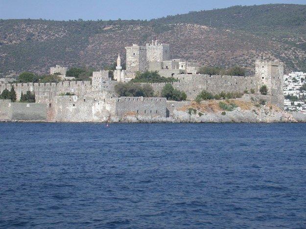 Bodrum známy svojím pôsobivým hradom.