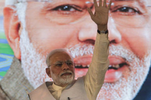 Indický premiér Narendra Modi.
