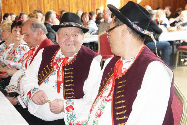 Stretnutie folkloristov Púchovskej doliny.