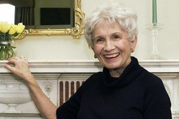 Laureátka Nobelovej ceny za literatúru Alice Munroová.