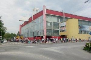 Hokejová aréna v Trenčíne.
