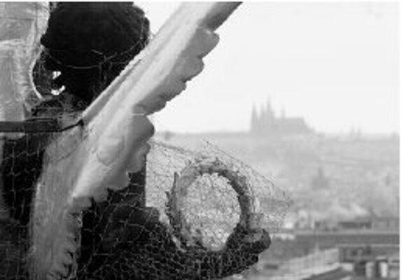 Anjel v Prahe.