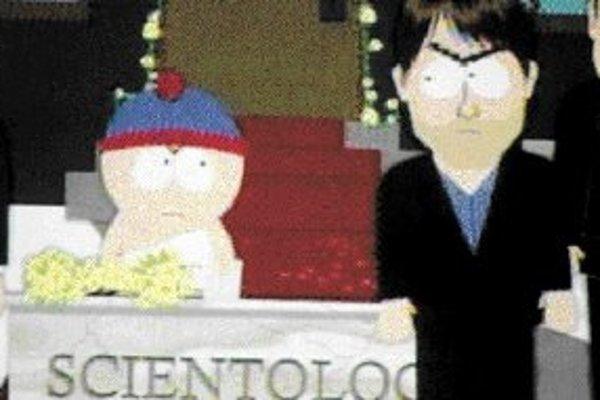 Postavička Toma Cruisa v seriáli South Park.