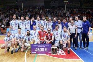 Volejbalisti Bystriny zlatý hetrik nedosiahli, ale odohrali dôstojné finále.