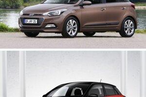 Porovnanie Hyundai i20 2014 a Hyundai i20 2018.