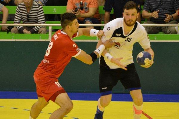 Ľubomír Jadroň strelil v druhom zápase šesť gólov, z toho tri zo sedmičiek.