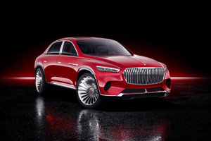 Mercedes Vision Maybach Ultimate Luxury