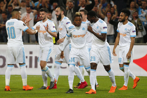 Futbalisti Marseille strelili Salzburgu dva góly.