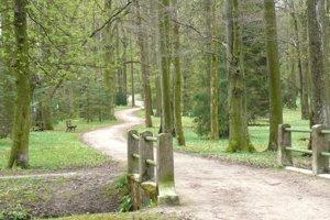 Park vMošovciach je nádherným miestom na prechádzky irekreačný šport.