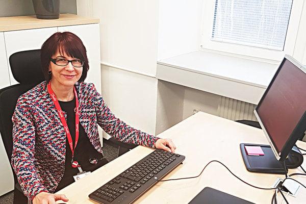 Riaditeľka pre financie a controlling Danfoss Power Solutions a.s. Mária Smokoňová.