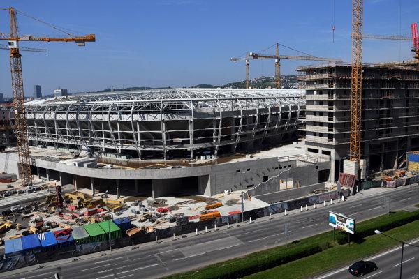 Národný futbalový štadión, 30. apríl 2018.