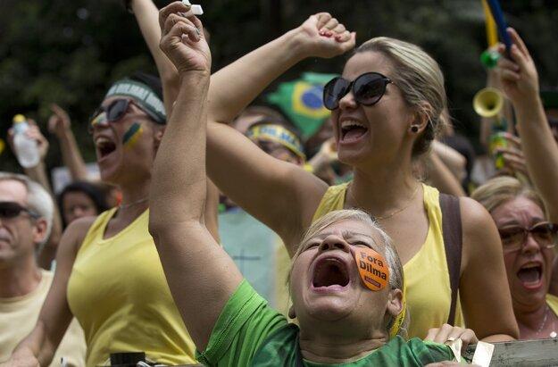 Sao Paulo, exkluzívna Avenide Paulista, nedeľa 15. marca.